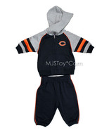 NWT Chicago Bears NFL Baby Jogging Suit 2pc Embroidered Team Logo Jacket... - $29.99