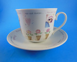 China Oversized cup Mug & Saucer Spice of Life by Judith Glover GREAT GIFT!