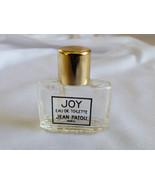 Jean Patou JOY Eau de Toilette Mini 4ml 0.14 oz. bottle Made in France e... - $17.82