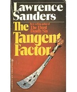 The Tangent Factor (Peter Tangent, Book 2) [Apr 15, 1982] Sanders, Lawrence - $68.31