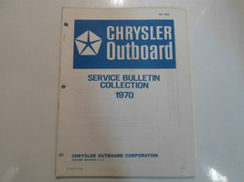 1970 Chrysler Outboartd Service Bulletin Collection Manual FACTORY OEM BOAT - $12.02
