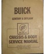 1982 BUICK CENTURY Shop Repair Service Workshop Manual 82 OEM BOOKS OEM - $9.85