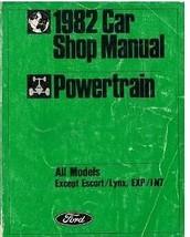 1982 Ford CROWN GRANADA POWERTRAIN Repair Servi... - $14.80