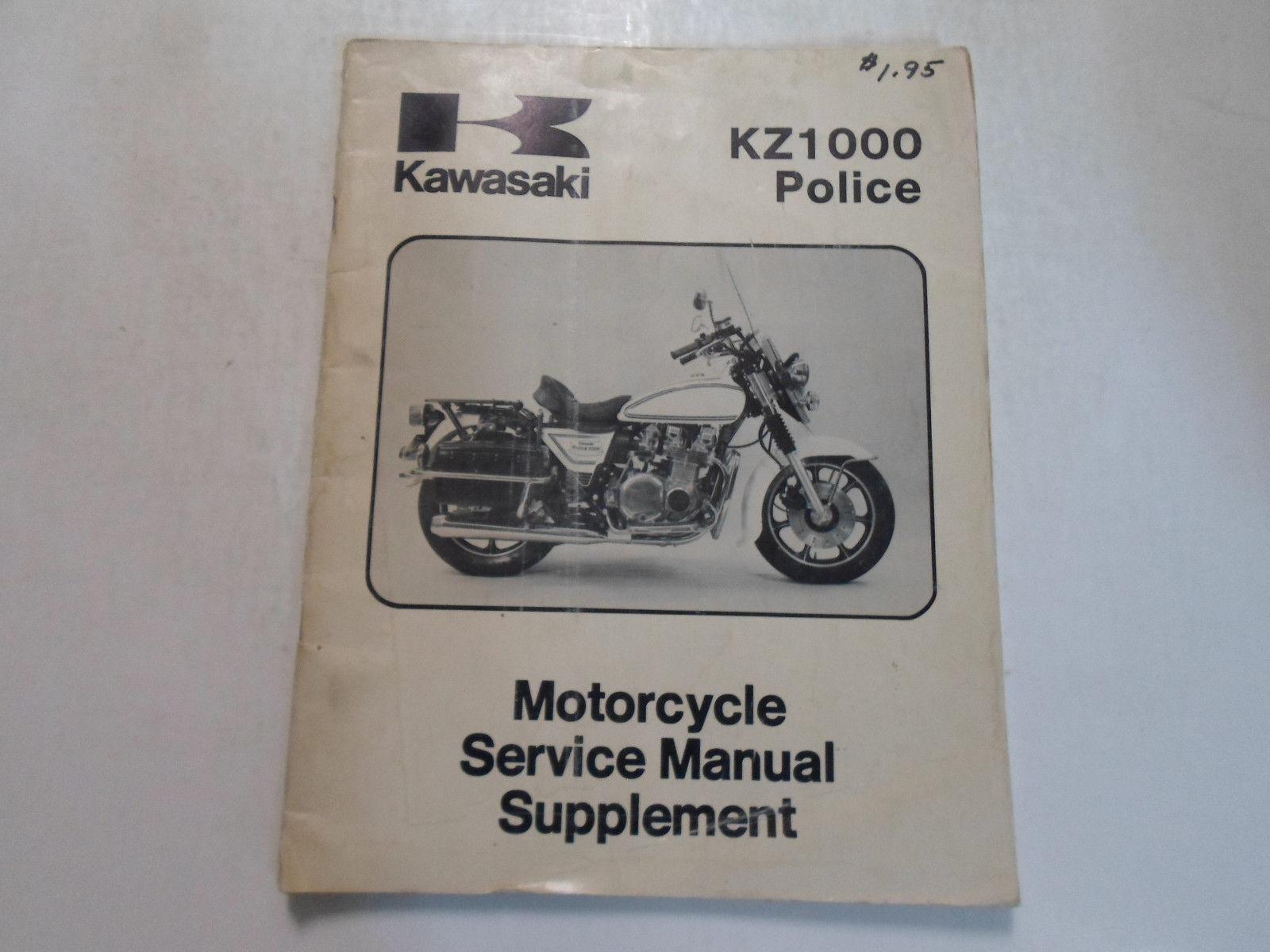 1984 Kawasaki Kz1000 Police Service Manual and similar items
