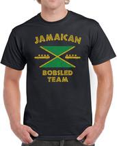394 Jamaican Bobsled Team mens T-shirt costume funny 90s movie rasta reggae new - $15.00+