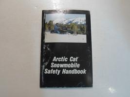 1993 Arctic Cat Snowmobile Safety Handbook Manual FACTORY OEM WORN DEAL - $7.91