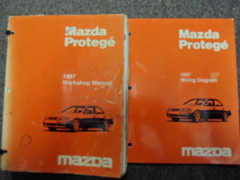 1997 Mazda Protege Service Repair Shop Manual SET OEM W Wiring Diagram Book EWD - $174.24