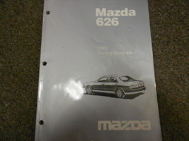 1998 Mazda 626 Electrical Wiring Diagram Service Repair Shop Manual FACTORY OEM - $19.75