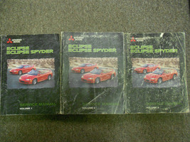 1998 Mitsubishi Eclipse Eclipse Spyder Service Repair Shop Manual FACTORY OEM x - $346.49