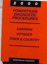 2000 CHRYSLER Town & Country Powertrain Diagnostic Service Shop Repair Manual - $10.84