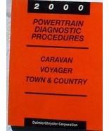 2000 CHRYSLER Town & Country Powertrain Diagnostic Service Shop Repair M... - $10.84