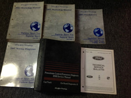 2001 Ford Explorer Sport Trac Service Shop Repair Manual Set W PCED + EW... - $285.21