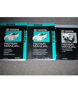 2002 TOYOTA CELICA Service Shop Repair Manual Set OEM W TRANSAXLE BOOK - $257.39
