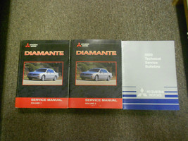2003 MITSUBISHI Diamante Service Repair Shop Manual SET FACTORY OEM BOOK... - $356.40