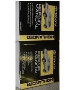 2004 TOYOTA HIGHLANDER Service Shop Repair Workshop Manual Set FACTORY O... - $366.25