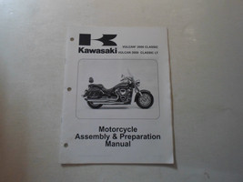2006 Kawasaki Vulcan 2000 Classic LT Motorcycle Assembly & Preparation Manual 06 - $15.79
