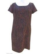 Robbie Bee Brown Short Sleeve Dress - $15.00
