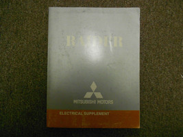 2007 MITSUBISHI Raider Electrical Supplement Service Repair Shop Manual ... - $16.78