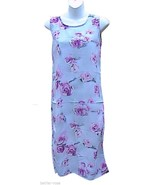 IN DESIGN GIRLS Light Gray Floral Sleeveless Dress - $15.00