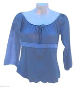My Michelle Gray Long Sleeve Top - $13.00