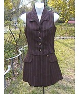 LA BELLE 2 Pc Sleeveless Skorts Suit Dress - $25.00