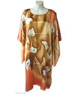 Gold Calla Lily Mid Dress - $30.00