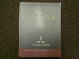 2009 MITSUBISHI Galant Electrical Supplement Service Repair Shop Manual ... - $19.79