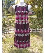 RAMPAGE Stripe Printed Sleeveless Dress - $15.00