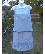 DBY LTD. 2 Pc Sleeveless Skirt Suit Dress - $25.00