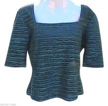 Sparkly Dark Green Top - $15.00