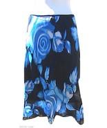 Jonathan Martin Blue Elastic Skirt - $12.00