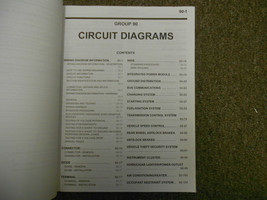 2007 MITSUBISHI Raider Electrical Supplement Service Repair Shop Manual WORN 07 image 5