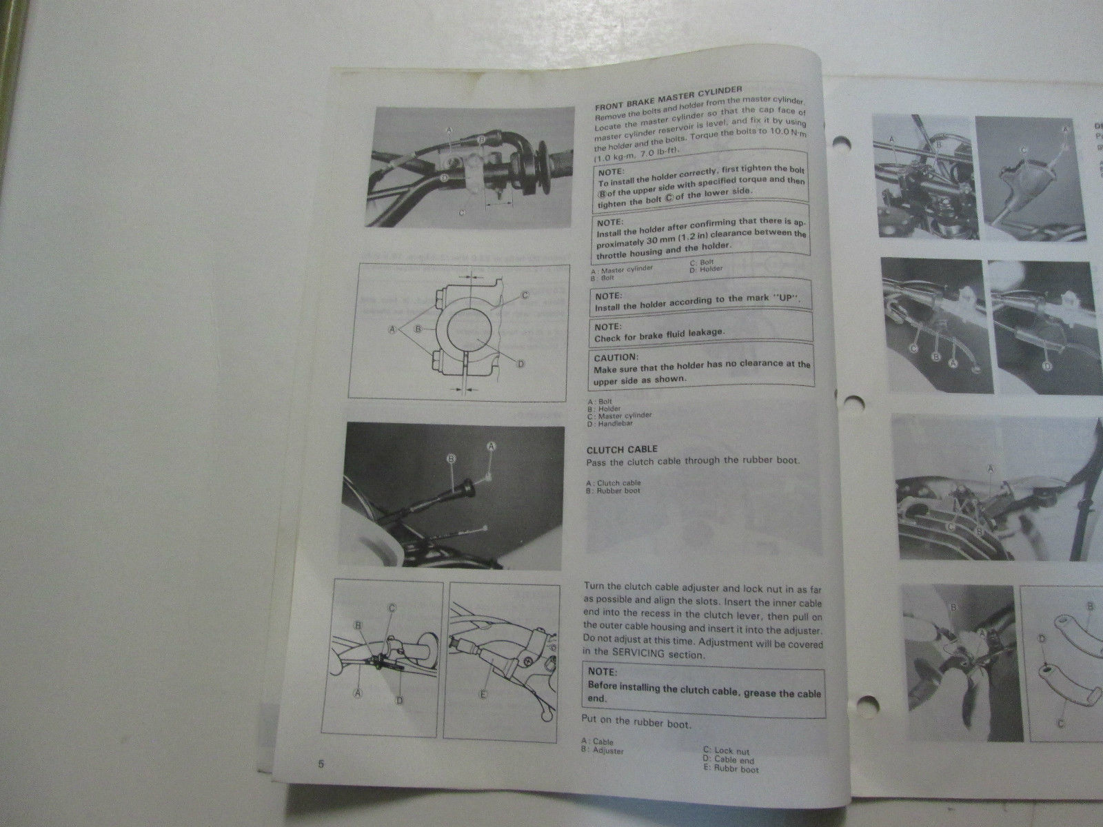 ... 1993 Suzuki DR350R Assembly Pre Delivery Service Guide Manual MINOR  STAINS OEM ...