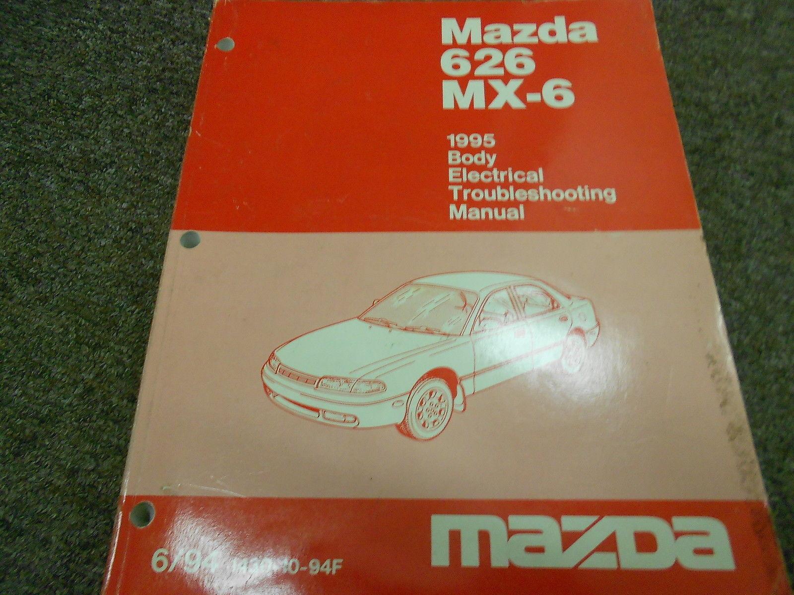 1995 Mazda B Series Truck Body Electrical Service Repair Shop Manual Oem Book 95