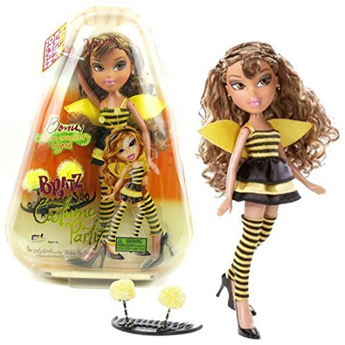 Primary image for MGA Entertainment Bratz Costume Party Series 10 Inch Doll - YASMIN in Bumblebee
