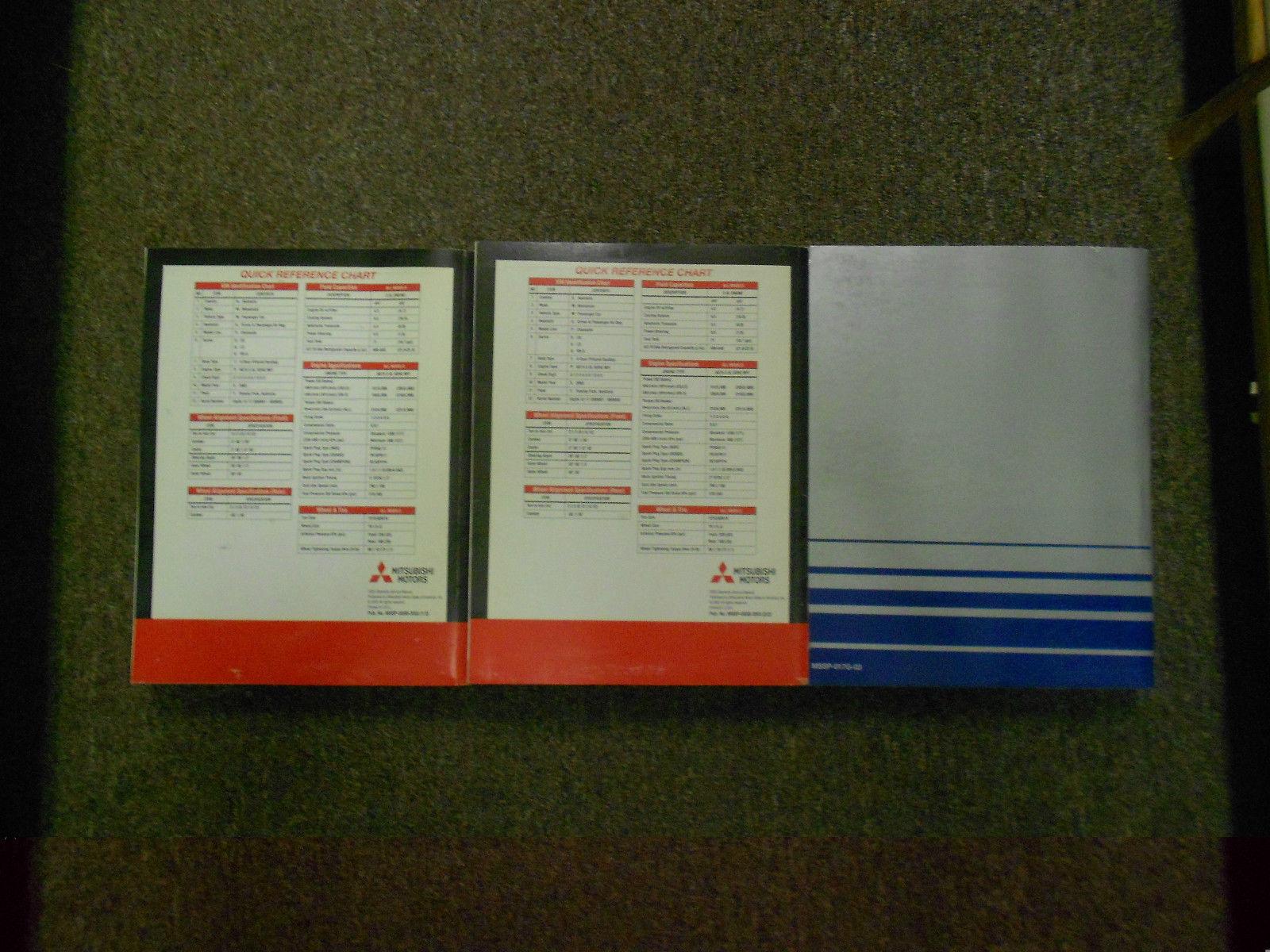 2003 MITSUBISHI Diamante Service Repair Shop Manual SET FACTORY OEM BOOK 03 x