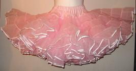 4 layer 100 yard organza petticoat usa made  various - $135.00