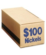 PM Company Coin Box, Nickels, 100, 50/CT, Blue - €68,01 EUR