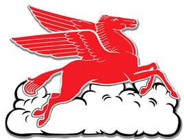 """Pegasus Flying Horse Cloud Motor Oil Sign 233/4 X 18"""" 22 Gauge Steel - $44.50"""