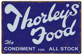 Thorley's Food The Condiment Advertisement Sign - $23.76
