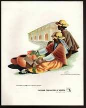 Original 1945  Print Ad Container Corporation of America Columbia by  Ju... - $9.49