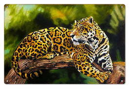 "Reproduction Jaguar Sign 12""x18"" - $23.76"