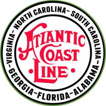 Atlantic Coast Line Georgia Florida Alabama Virginia North Carolina Railway Sign - $25.74