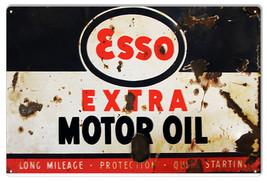 "ESSO Dealer Motor Oil Reproduction Gas Station Sign 12/""x18/"""