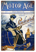 Nostalgic  Reproduction   Motor Age Packard Sign - $21.78
