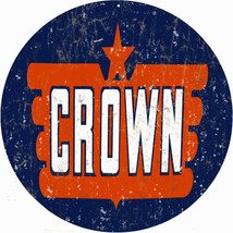 Crown Motor Oil Gas Station Sign Garage Art Reproduction - $25.74