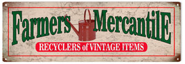 Farmers Mercantile  Reproduction Sign - $19.80