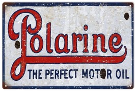 Reproduction  Polarine The Perfect Motor Oil Gas Sign - $25.74