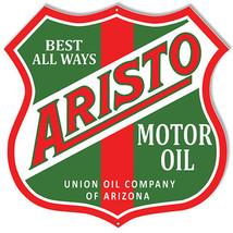 Aristo Of Arizona Motor Oil Sign 15X15 - $25.74