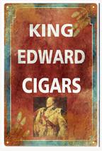 King Edward Cigar Sign Natsalgic Cigar Signs - $25.74